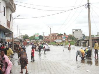 Urbanisation et risques naturels  Cotonou ou l'eau comme territoire | Projets d'architecture et d'urbanisme en Afrique | Scoop.it