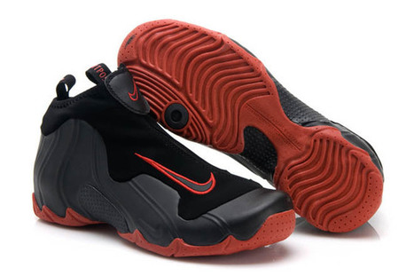 men air flightposite 1 anthracite and black red eggplant sneaker | want and share | Scoop.it