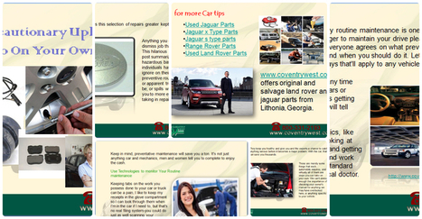 The Precautionary Upkeep You should do On Your Own Vehicle | Online Slideshow by Slide.ly | coventry west | Scoop.it