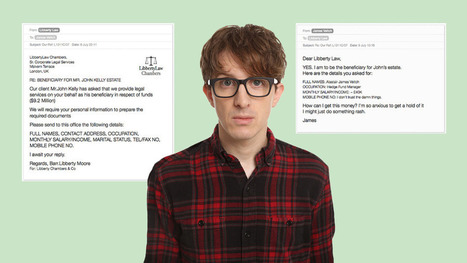 This British man's email exchange with a scammer escalated hilariously | Prozac Moments | Scoop.it