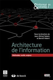 Manuel Architecture de l'information sous la direction de Jean-Michel Salaün et Benoît Habert - Sérendipidoc | Outils et  innovations pour mieux trouver, gérer et diffuser l'information | Scoop.it