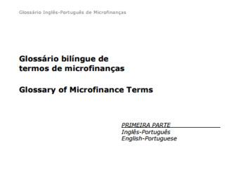 (PT) (EN) (PDF) - Glossário bilíngue de termos de microfinanças | cgap.org | Glossarissimo! | Scoop.it