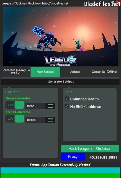 League of Stickman Free Gems and Coins Hack • BladeFiles.net - Hacks and Generators | computer | Scoop.it