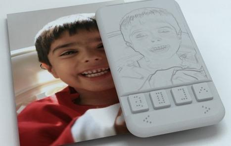 Un smartphone doté d'un écran haptique destiné aux non-voyants   -Interaction-   Scoop.it