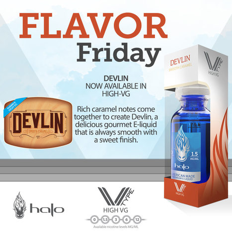 20% OFF Devlin E-liquid | E-Liquid | Halo Cigs | Scoop.it