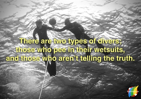 Etiquette for the Scuba Diving Caveman: Don't Smell Like Pee! | All about water, the oceans, environmental issues | Scoop.it