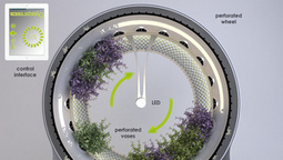 This Spinning Indoor Garden Was Built Using NASA Technology | Vertical Farm - Food Factory | Scoop.it