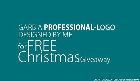FREE Christmas Giveaway: Get 1 Logo For Free - DailySEO | FREE Christmas Giveaway: Get 1 Logo For Free | Scoop.it