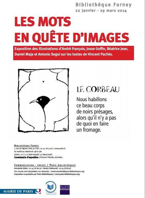 22 janvier - 29 mars 2014 ::  Exposition Les mots en quête d'images | Paris | Art contemporain | Scoop.it
