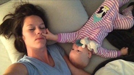 Baby doesn't want her mother to sleep | Sleep | Scoop.it