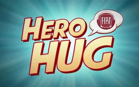 Ceintures Hero Hug : co-branding entre DC Comics et Fiat | Identité de marque | Scoop.it