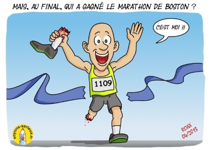 Mais, au final, qui a gagné le marathon de Boston ? | Baie d'humour | Scoop.it
