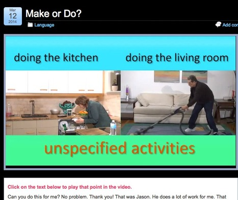 Make - Do Video 1: Simple English Videos  fun, simple video by the humourous Vicky Hollet & her husband | Brainfriendly, motivating videos and audio to learn English A1 A2 beginners, pre-intermediate  (European standard) | Scoop.it