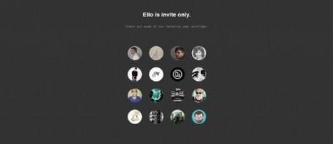Ello, le réseau social anti-Facebook qui fait le buzz | Web 2.0 et société | Scoop.it
