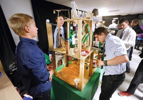Rube Goldberg machines teach students physics   Physics teaching   Scoop.it