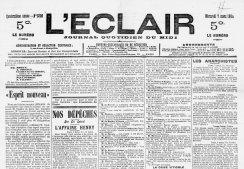 Archives de l'Hérault : L'Eclair - Archives en ligne / Périodiques | GenealoNet | Scoop.it