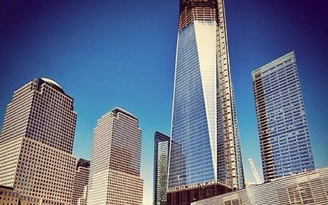 Mashable's Pic of 11 Instagram Images of Freedom Tower | MobilePhotography | Scoop.it