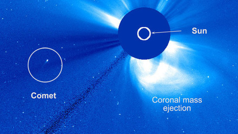 Solar flyby: Daredevil comet circles sun, surprising astronomers | promienie | Scoop.it