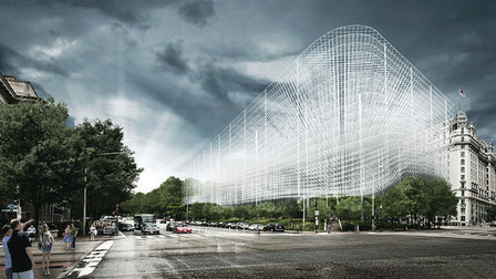[Washington, USA] KAMJZ Proposes to Preserve Pershing Park with an Overhead Memorial | The Architecture of the City | Scoop.it