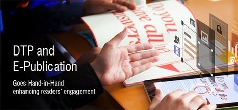 DTP and E-Publication Goes Hand-in-Hand Enhancing Readers' Engagement..!! | Data Entry and Data Processing Services in India | Scoop.it