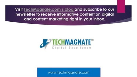 Techmagnate- Best SEO Service Provider in India | SEO Tips | Scoop.it
