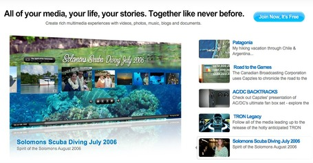 Capzles Social Storytelling | Online Timeline Maker | Share Photos, Videos, Text, Music and Documents Easily | Herramientas digitales | Scoop.it