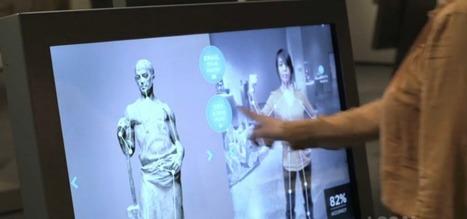 Le Cleveland Museum of Art captive ses visiteurs grâce aux écrans interactifs |Génération Tactile … Out Of Home | Chauvet Pont d'Arc | Scoop.it