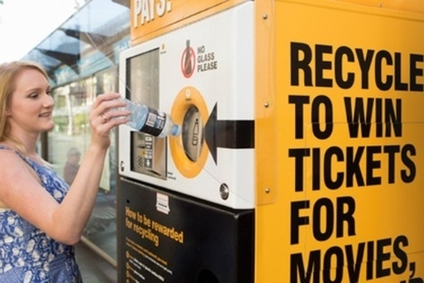 Reverse Vending Machines Take Recyclable Goods As Payment - PSFK | Retail Links | Scoop.it