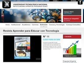 Revista Aprender para Educar con Tecnología ~ Docente 2punto0 | Educacion, ecologia y TIC | Scoop.it