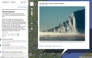 Finding Shakespeare…with GoogleEarth | IELTS, ESP, EAP and CALL | Scoop.it