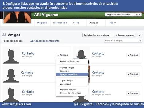 ¿Cómo utilizar Facebook para buscar empleo? - ARi Vigueras | redes sociales | Scoop.it