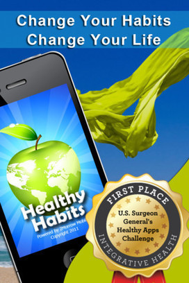 Healthy Habits iPhone App Helps Achieve Your 2013 Resolution | Best iPhone Apps and iPad Apps | Scoop.it