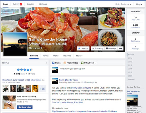 Facebook Moves to Single-Column Timelines for Pages | MarketingHits | Scoop.it