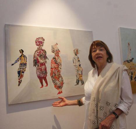 El Ateneo muestra la poesía matérica de Eva Jecklin en una ... - La Opinión de Málaga | ME PERDISTE | Scoop.it
