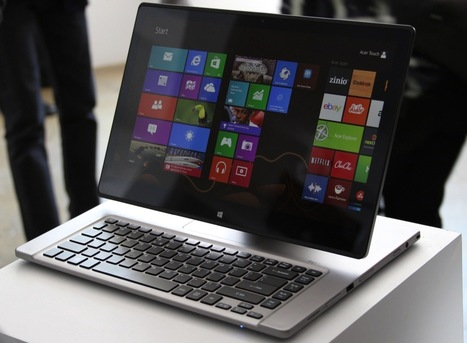 Hands-on with Acer's Aspire R7.. strangest convertible PC we've ever seen | Mobile IT | Scoop.it