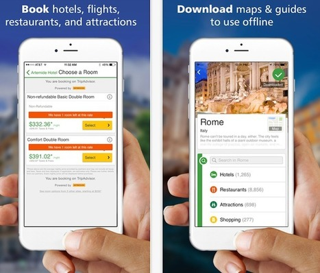 TripAdvisor Takes New Steps Toward Offering the Ultimate Travel Guide App | Food News | Scoop.it