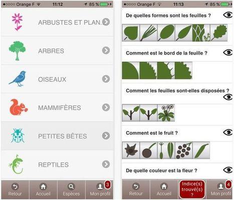 Ecobalade : l'appli pour découvrir la nature | UseNum - Culture | Scoop.it