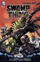 Scott Snyder - Swamp Thing Vol. 2: Family Tree - Net-Comic-Strips | Philately, Books & Comics | Scoop.it