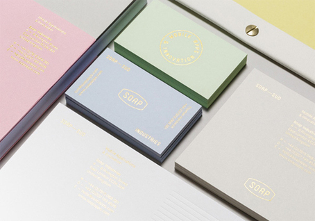 Agency branding brings pastel colours bang up to date | Branding | Creative Bloq | Creative Slashers | Scoop.it