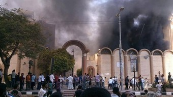 Egypt: Al Qaeda and Muslim Brotherhood Mobs Burn Christian Coptic Churches   Unthinking respect for authority is the greatest enemy of truth.   Scoop.it