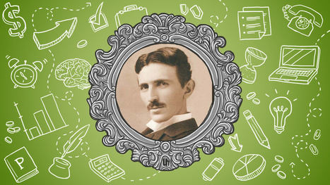 Nikola Tesla's Best Productivity Tricks   Creative Designer, and Web Developer   Scoop.it