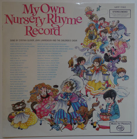My Own Nursery Rhyme Record. Very rare South African release. | Retrofanattic's articles and items for sale | Scoop.it