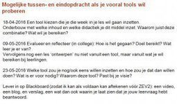 Reflectie op colleges ict in onderwijs | Amber Walraven's Research and Teaching | Technology enhanced learning | Scoop.it
