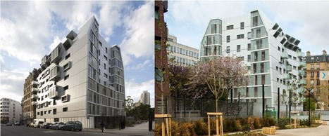 PARIS HABITAT - OPH, A project by MAAST : 46 Homes | The Architecture of the City | Scoop.it