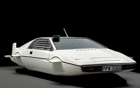 James Bond's Lotus Esprit submarine car sells for $968,000 | DiverSync | Scoop.it