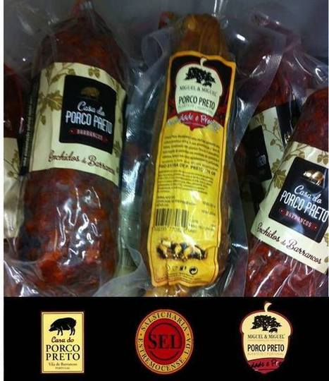 Black Pig smoked sausages | Portuguese Awarded Gourmet Products | Scoop.it