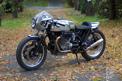 Inazuma café racer: Guzzi Le Mans Machine | Cafe Racers | Scoop.it