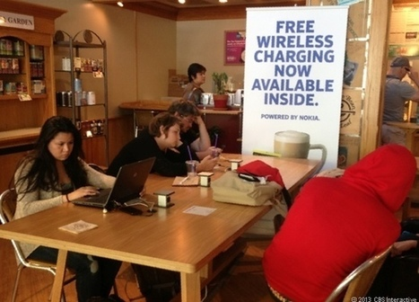 Nokia's wireless chargers perk up local coffee shops | Mobile (Post-PC) in Higher Education | Scoop.it