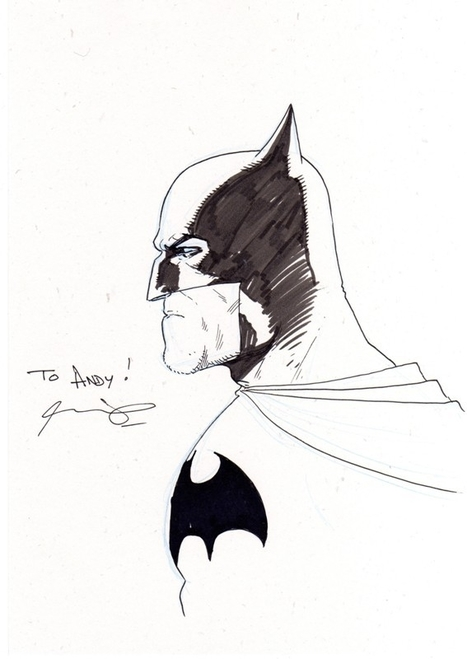 Ariel Olivetti Working On Batman: Black And White 2 | Comic Books | Scoop.it