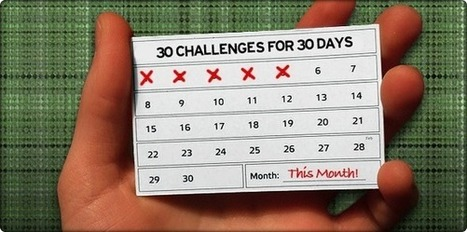 30 Challenges for 30 Days | For Blogs and Social networking | Scoop.it